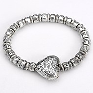 Women's Chain/Fashion/Personalized/Round Bangles Bracelet Silver