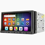 Android 4.2 da 7 pollici in-dash lettore DVD dell'automobile multi-touch capacitivo con wifi, gps, RDS, ipod, bt, tocco, schermo