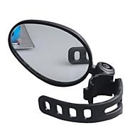 Jezdit na kole Bike Zrcadla Jízda na kole Voděodolný Nastavitelný 360 stupňů otočka Černá pryž plast