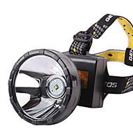 Lampes frontales 2 Mode 2000lumens Lumens Etanche / Rechargeable 18650Camping/Randonnée/Spéléologie / Cyclisme / Chasse / Pêche /