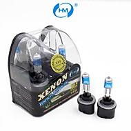 hm® plasma 880 12v 27w lampada alogena fari lampadine bianche allo xeno (una coppia)