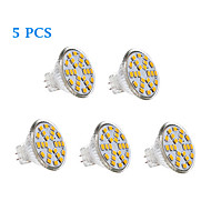 3W GU4(MR11) LED Filament Bulbs 24 SMD 2835 231 lm Warm White / Cool White AC 12 V 5 pcs