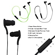New Sport Stereo Noise Canceling With-Mic In-Ear Canal Wireless Bluetooth Headset Headphone For iPhone Samsung LG Sony