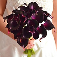 New More Colors Real Touch Mini Calla Lily Bouquet Flowers 9 Pieces/Lot for Weddind and Party Decoration