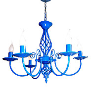 60 Modern/Contemporary / Traditional/Classic / Rustic/Lodge / Vintage / Country LED / Bulb Included Painting MetalChandeliers / Pendant