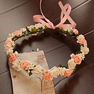 Dame Satin/Gummi Medaljon Bryllup/Speciel Lejlighed/Udendørs Blomster/Krans Bryllup/Speciel Lejlighed/Udendørs