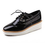 Women's Shoes Round Toe Wedge Heel Oxfords Shoes More Colors available