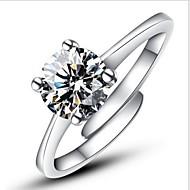 Prstenje Vjenčanje / Party / Dnevno / Kauzalni Jewelry Plastika Žene Prstenje sa stavomPrilagodljive Srebrna