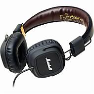 Marshall importante auriculares escucha la fiebre alta fidelidad roca Signature Edition micrófono de alambre para el iphone