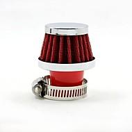 tirol universal rød mini kold luft indtag diameter 25mm runde tilspidsede auto luftfiltre