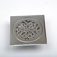 Contemporary Brass Bathroom Accessories Floor Drain