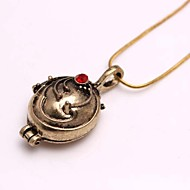 la mode du vampire diaries elena alliage collier pendentif film (d'or, d'argent) (1 pc)