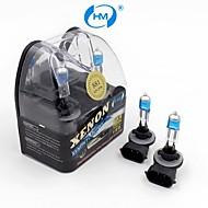 hm® plasma 881 12v 27w lampada alogena fari lampadine bianche allo xeno (una coppia)