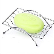 Fashion Convenient Stainless Steel Bathroom Soap Dishes Box