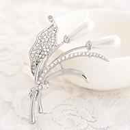 Ladies'/Women Alloy Brooch Silver