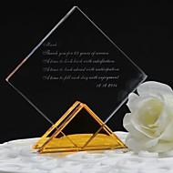presente presentes da dama de honra personalizados personalizado enfeites de cristal prismático