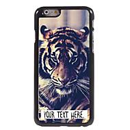 """индивидуальный случай тигр дизайн корпуса металл для Iphone 6 (4,7 """")"""