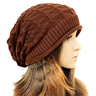 Women Wool Blend Beanie/Slouchy , Casual Winter
