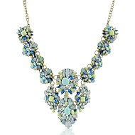 Ladies'/Women's Quartz/Acrylic Necklace Wedding/Birthday/Party/Daily/Office & Career/Outdoor Rhinestone