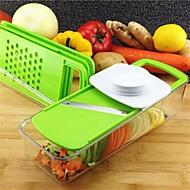 1 kpl Leikkuulauta For hedelmien / vihannesten Muovi Monikäyttö / Creative Kitchen Gadget