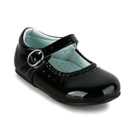 Girl's Flats Spring / Summer / Fall / Winter Comfort / Mary Jane Leatherette Wedding / Dress / Casual / Party & Evening Flat Heel Buckle