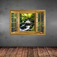 Adesivos de parede adesivos de parede 3d, parede decoração de vinil paisagem adesivos