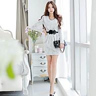 lanting 신부 볼 가운 몸집이 작은 / 플러스 웨딩 드레스 코트 기차 끈이 얇은 명주 그물 크기