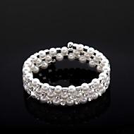 Child's/Women's Fashion Bracelet Cubic Zirconia Crystal/Imitation Pearl/Cubic Zirconia