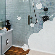 """55 * 69cm(22""""W * 27""""L) Translucent Frosted Opaque Glass Bathroom Window Film"""