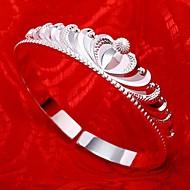 Women's Bracelet Sterling Silver Non Stone