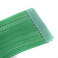 קלטות ארוכות וישרות הארכה סינתטית 2 יח 'אור ירוק