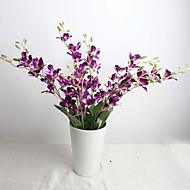 """26,8 """"hand-made hedvábí umělé amaranthine cattleya sada 1"""