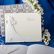 Elegant Wedding Guest Book Sign In Book