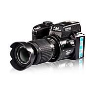 "3 ""5.0mp cmos 16x grabadora de vídeo de la cámara réflex digital de sensor soporta tarjetas sd 32gb"