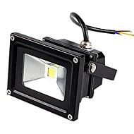 JIAWEN® Black IP65 Waterproof 10W 980Lm 3000-3200K/6000-6500K Warm White Light /White Light LED Flood Lamp (DC 12V)