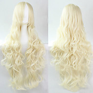 cosplay blonde fashion must-have meisje hoge kwaliteit lang krullend haar pruik