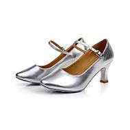 Non Customizable Women's Dance Shoes Latin Low Heel (More Colors)