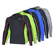 Corrida camadas de base / Suit Compression / Camiseta / Blusas Homens Manga CompridaRespirável / Resistente Raios Ultravioleta / Secagem