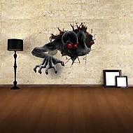 3d autoadesivi della parete decalcomanie della parete, gli autoadesivi della parete diavolo decorazione vinile