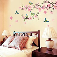 Romantic Cherry Blossom Shaped Bedroom/ Livingroom/ TV Background Wall Sticker