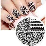 Nail Art Stamp Stamping Image Template Plate JQ Series NO.18