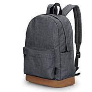 Koreaanse stijl mannen toevallige schoolrugzak rugzakken t1101 grijs