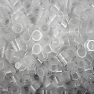 ITATOO™ 1000pcs 12mm Clear Disposable Tattoo Ink Cups Medium Sizes for Tattoo Inks