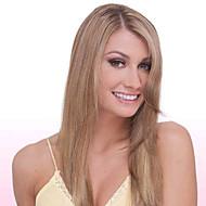 Perruque - Marron Cheveux humains  - pour Femme