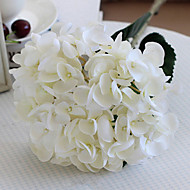 Oversized White Mermaid Hydrangeas Artificial Flowers Set 2