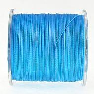 300M / 330 Yards Linha Traçada PE / Dyneema Linhas de Pesca Azul 50LB / 60LB / 80LB / 70LB 0.37mm,0.40mm,0.45mm mm ParaPesca de Mar /