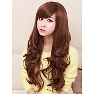Curly Wavy Daily Wear Nightclub Party Charming Full Wigs