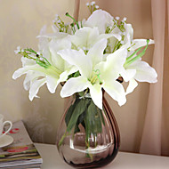 Set of 7 Country Style Simulation Lily Flowers