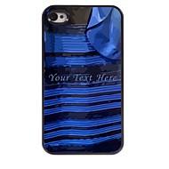 Speciaal ontwerp - Plastic/metalen - Meerkleurig - Gepersonaliseerde Phone Case - voor iPhone 4/4S -