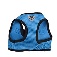 Dog Harness Waterproof / Adjustable/Retractable / Breathable Rainbow Nylon